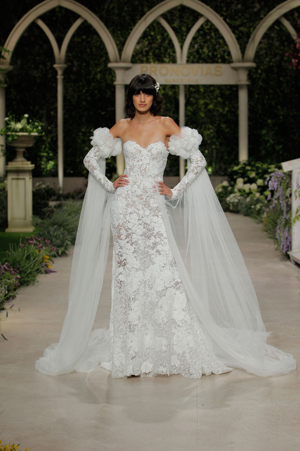 ilovebrides.pt Pronovias 2019 na Barcelona Bridal Fashion Week